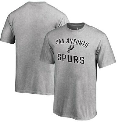 6a89b3ee943 San Antonio Spurs Fanatics Branded Youth Victory Arch T-Shirt - Heathered  Gray