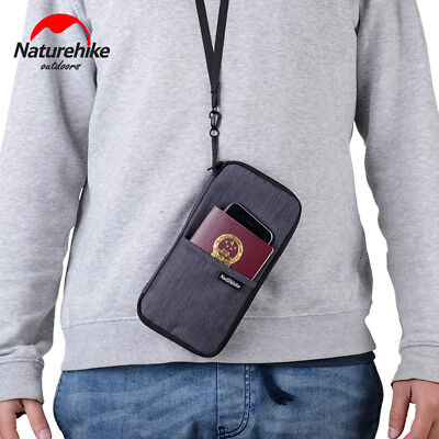 Multi Function Outdoor Bag Cash, Passport, Card Using Travel Wallet ID Holder