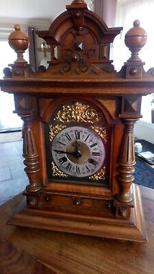 Vintage / wood Clock Case with face For Restoration