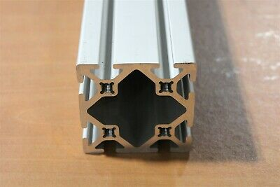 """8020 Inc 15 Series 3 x 3 Smooth Aluminum Extrusion #3030-S x 60.5"""" Used F1-10"""