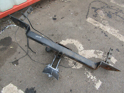 Rover 75 Saloon Mg Zt Witter Tow Bar Towbar With One Socket Not Very Old