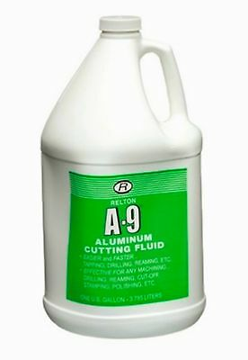 Relton 01G-A9 Aluminum Cutting Fluid For Drilling, Milling, Sawing, Tapping Etc.