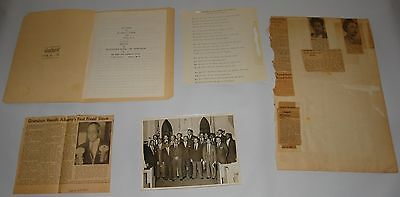 Black Americana Scrapbook FRANK SIMPSON Albany FREED SLAVE NY Gov CIVIL RIGHTS