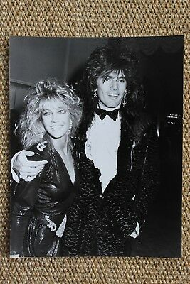 Motley Crue Tommy Lee Heather Locklear 1980s Photo Paparazzi Picture The Dirt