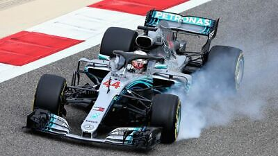 Mercedes Amg Petronas Formula One Team F1 W10 Eq Power+ Lewis Hamilton 2019 1:18