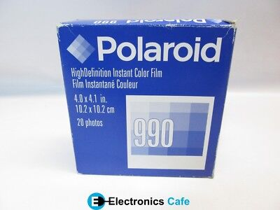Polaroid 990 Instant Color Photos 2pk