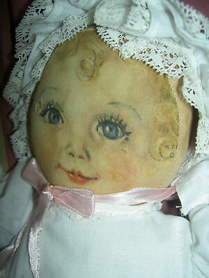 """Adorable, 14"""" antique cloth """"SWEETS"""", Maud Tousey Fangel, Georgene Averill doll"""