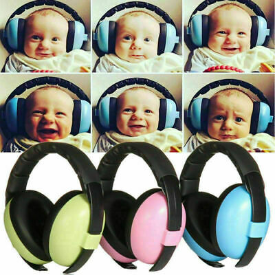 Safety Baby Earmuffs Ear Hearing Protection Noise Cancelling Headphones For Kids