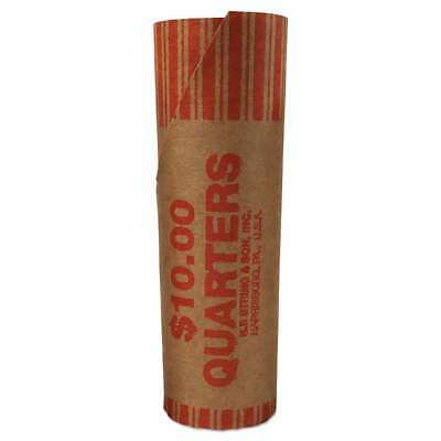 """1000//pk/"""" Pop-Open Wrappers /""""PM Tubular Coin Wrappers Half Dollar Coins $10"""
