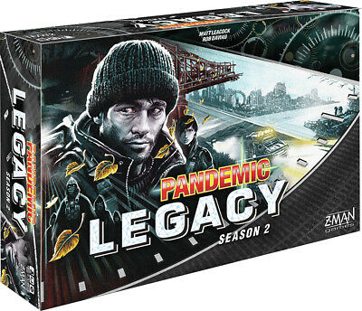 Pandemic Legacy Season 2 (Black) Co-Op Board Game by Z-Man Games ZMGZM7172