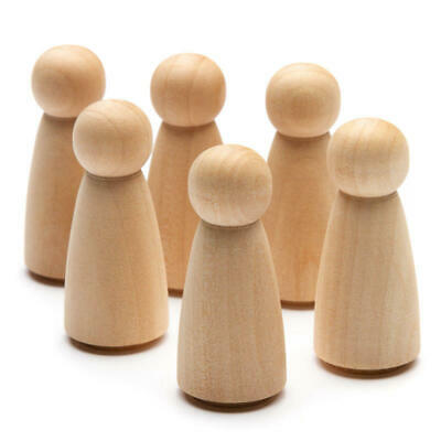 Factory Direct Craft Unfinished Wood Doll Bodies | Package of 2200 Pieces