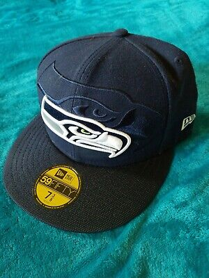 size 40 6b507 5ad0b Authentic Seattle Seahawks NFL Era 5950 NFL Draft On Stage Fitted hat 7 3 8