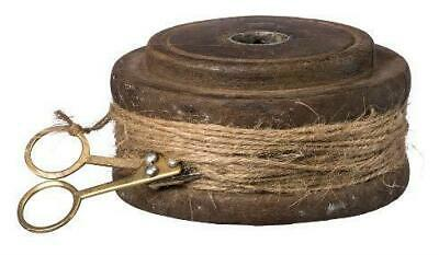 Primitives by Kathy Repurposed Flat Twine Spool with Scissors