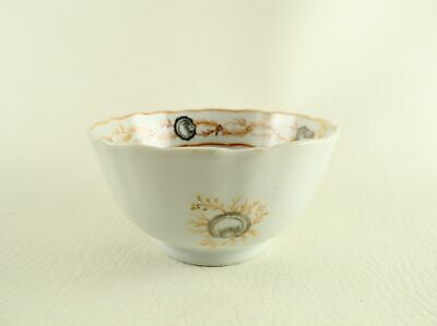 Late 18th / Early 19th Century English Decorated Chinese Porcelain Tea Bowl