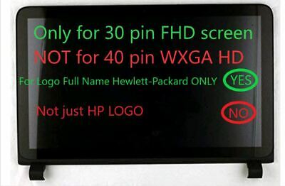 Digitizer Touch Panel Front Glass For 15.6inch HP Pavilion 15-AB100 15-AB200