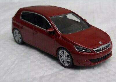 Norev 3 inches. Peugeot 308 mk2 rouge  Neuf en boite.
