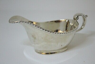 A Heavy Victorian Solid Silver Sauce Boat - London 1899 - Not Scrap