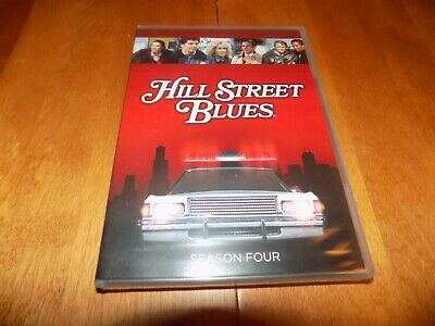 HILL STREET BLUES SEASON 4 Detective Police Series TV Classic DVD SEALED NEW