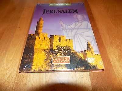 ANCIENT CIVILIZATIONS JESUS' JERUSALEM Bible Middle East History Channel DVD NEW