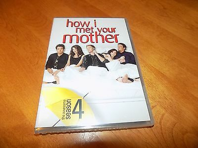 HOW I MET YOUR MOTHER SEASON 4 FOUR TV Comedy Series 3-DISC DVD SET SEALED NEW