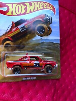 New Hot Wheels Subaru Brat 2019 Off Road Truck Series