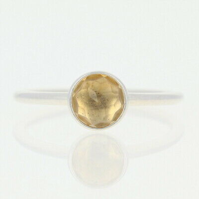 47f6cbac44dae NEW AUTHENTIC PANDORA November Droplet Ring -Sterling Citrine 52 (US ...