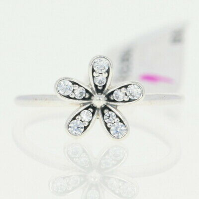 bbd6ae4de NEW Authentic Pandora Dazzling Daisy Ring - Sterling Clear 60 (US 9)  190932CZ