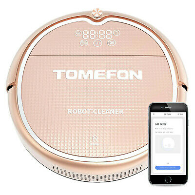 TOMEFON TCN850 Wi-Fi Connected Robotic Vacuum Cleaner Spazzare Succhiare