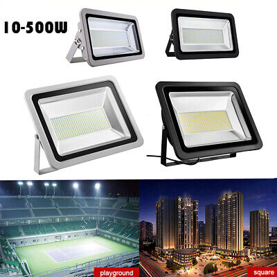 LED Floodlight 10W 20W 30W 50W 150W 200W 300W 500W Outdoor Garden Lamp IP65