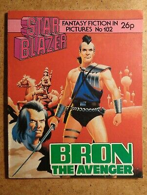 Starblazer Comic No.182: Bron The Avenger. Fantasy Fiction In Pictures 1987