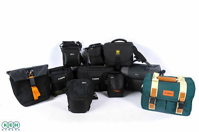 10 - Assorted BRAND CASES ( 1 Nikon & 1 Canon Guaranteed)