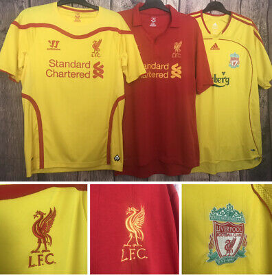 Liverpool Football Shirt, All Sizes, All Seasons, Great,
