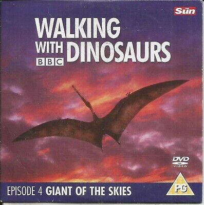 Walking With Dinosaurs - Episode 4 - Giants Of The Skies - Sun Promo Dvd