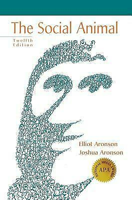 [Digital] Social Animal by Elliot Aronson (12th Edition)- Instant Email Delivery