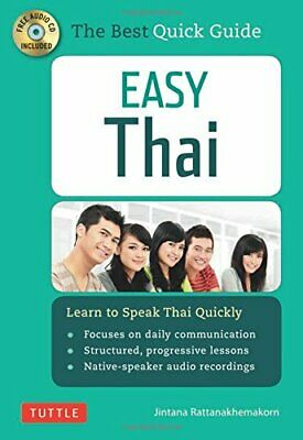 Easy Thai: Learn to Speak Thai Quickly (Includes Audio CD) NUEVO Brossura Libro