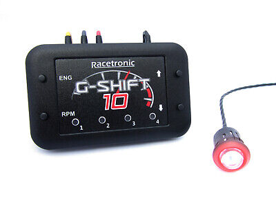 Racetronic GS10 Digital Shift Light - Ultrabright Red LED