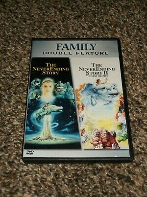 The Neverending Story Parts 1 & 2 Double Feature Dvd Free Shipping!