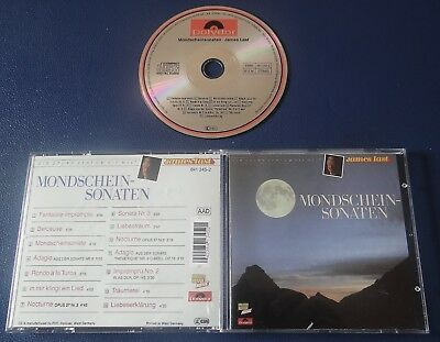 JAMES LAST - mondschein sonaten - CD ALBUM 1988