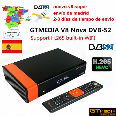 GTMedia V8 Nova Full HD DVB-S2 Satellite Receiver Freesat V9 Super Upgrade Super