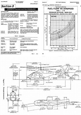 Bell 222 Airwolf TV Heli-copter manual rare detailed period archive 1980's ref