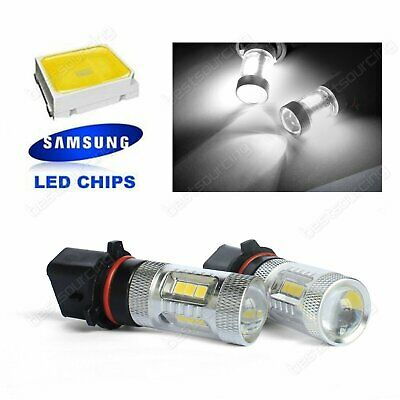 2x P13W PSX26W SAMSUNG LED 15W High Power Headlight Fog Light Daytime Lamp DRL