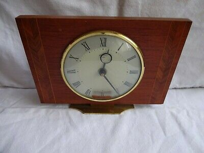 Vintage French Mantelpiece 8 day clock - Bentima -  1960`s Height 16 cm x 21 cm