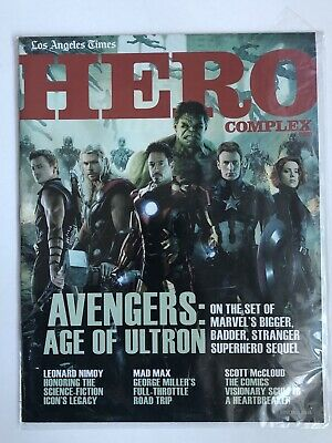 Hero Complex Magazine Wondercon /'14 Game of Thrones Xmen Godzilla Winter Soldier