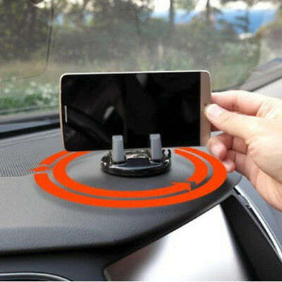 Non-slip Silicone Pad Mat Car in-Dash Mount Holder Cradle Dock For Cell Phone FG