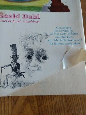 Roald Dahl Charlie And The Chocolate Factory 1964 1st Ed 4th Printing