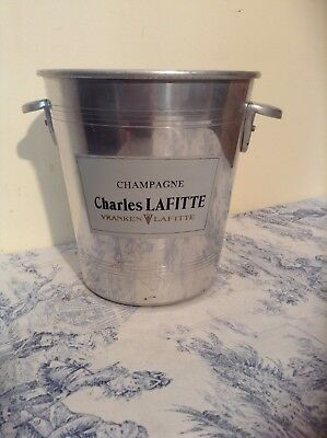 French Vintage Charles Lafitte Champagne Ice Bucket Wine Cooler (1726)