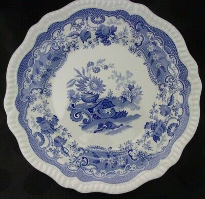"Spode Blue Room Collection ""May"" Dinner Plate 11"""