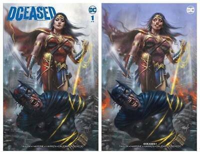 Dceased #1 Lucio Parrillo Trade/minimal Infected Set Ltd To 750 Sets With Coa