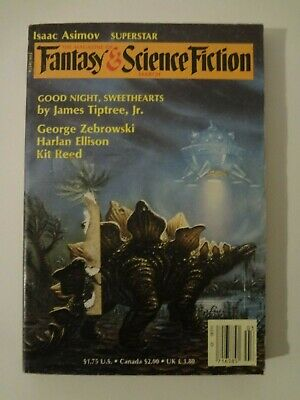 Magazine of Fantasy and Science Fiction - March 1986 - Harlan Ellison