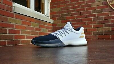 82e418a9dd43 Mens Adidas Harden Vol. 1 Basketball Shoes Sz 14 Used Bw0552 Disruptor  Sneakers